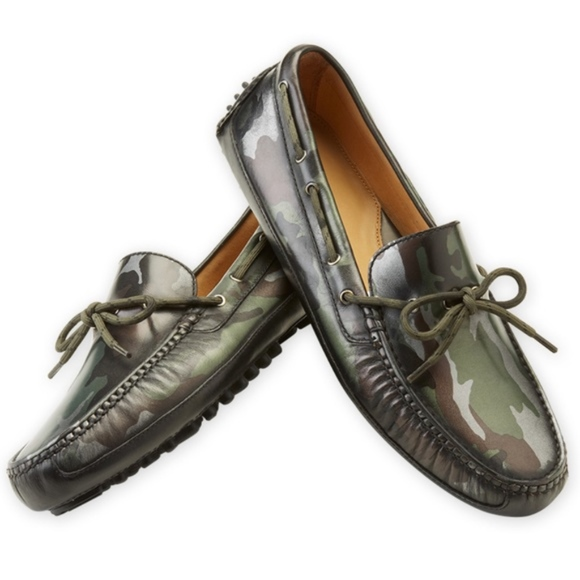 7ec6733338f Cole Haan Grant Canoe Camp Moc Camo Shoes Loafers